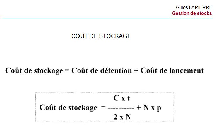 04 Gestion stocks - Gilles LAPIERRE