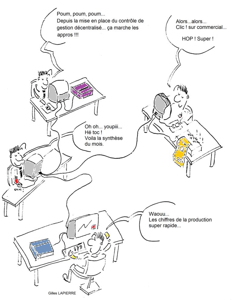 Décentraliser contrôle de gestion - Gilles LAPIERRE