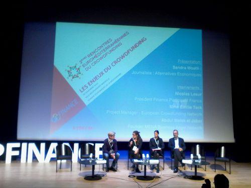 2èmes Rencontres Euroméditerranéennes du Crowdfunding - Marseille 5 novembre 2015