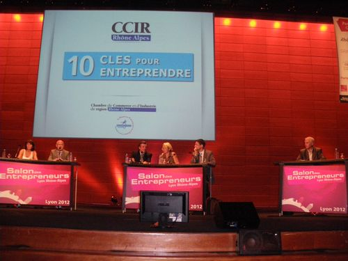 Salon des entrepreneurs - Lyon 13 & 14 juin 2012